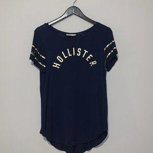 Navy Blue Hollister T-Shirt